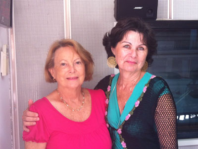 :) Marie-Lou et Christine