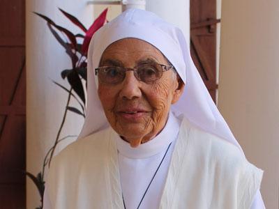 Célébration pour les 100 ans de Sœur Marie François d'Assise