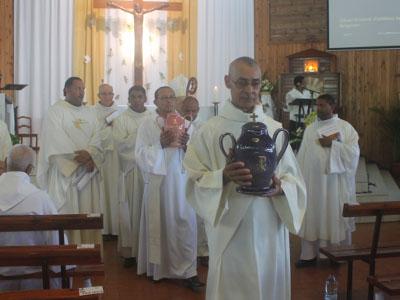 Célébration de la messe Chrismale 2018