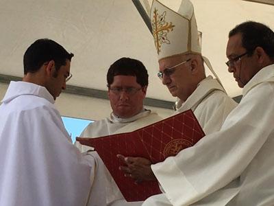 Ordination de Loïc Prugnières
