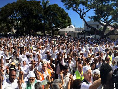 Marche Blanche du 31 juillet