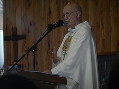 Ce mercredi 27 mars, Monseigneur Gilbert Aubry a célébré la messe chrismale