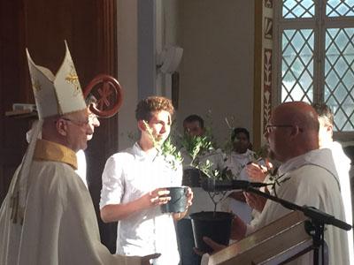 Messe de clôture de l'année Sainte à la Cathédrale