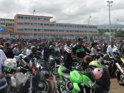 Messe des motards 2014