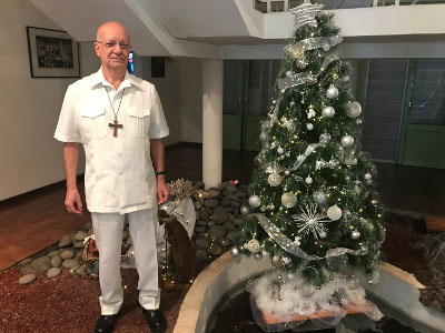 Message de Noël 2017 de Mgr Gilbert Aubry