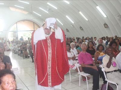 Célébration de la messe du vendredi saint 2018
