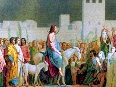 célébration des Rameaux et de la passion du Christ 2018