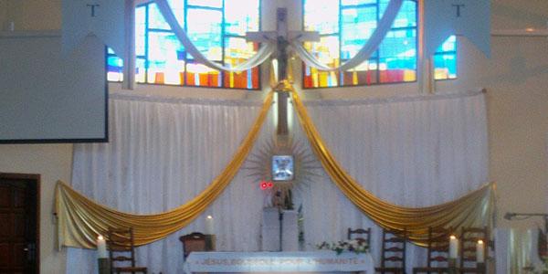 Eglise de Bois de Nèfles Sainte-Clotilde - 1ère partie